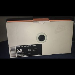 Nike Air skyline II/FOG